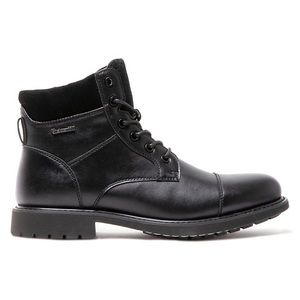 Blondo Waterproof Leather Fur Lined Lace Up Boots